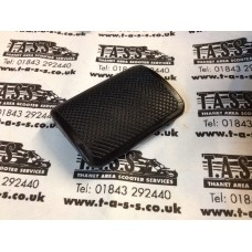 BRAKE PEDAL RUBBER BLACK CASA